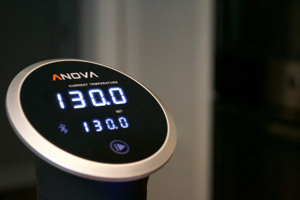 Anova Immersion Cooker Control Panel
